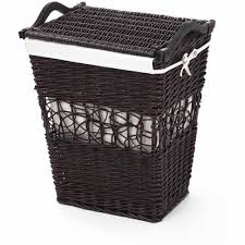 white laundry hampers bathroom dark wicker hamper for exciting laundry storage design