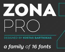 zona pro free fonts 2014 font pinterest fonts typography