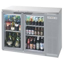 Glass Refrigerator Doors by Beverage Air Bb48gy 1 S 27 Led 48