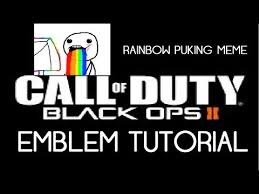 Call Of Duty Black Ops 2 Memes - black ops 2 emblem black ops 2 emblem tutorial meme face