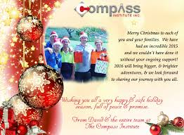merry from david and the entire staff at the compass