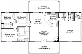 Unique Ranch House Plans Home Designs Style Small Cottage Home Plans With Open Bat