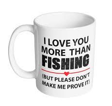 office coffee mugs i love you more than fishing coffee mug funny office coffee and