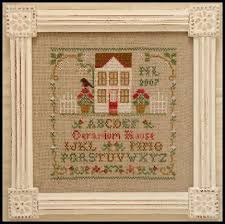 Country Cottage Cross Stitch Summerstitching