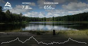 Hoist lakes foot travel area michigan maps 58 photos 26