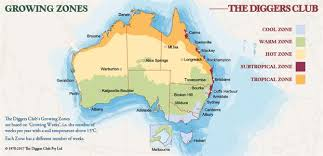 Climate Zones For Gardening - diggers climate maps the diggers club