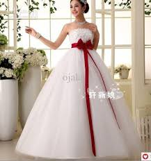 wedding dresses with bows wedding dress with bow fashion appliques sash