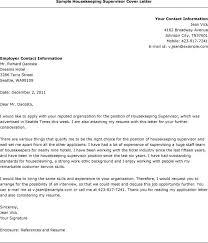 Sample Resume For Housekeeping Download Sample Housekeeper Cover Letter Haadyaooverbayresort Com