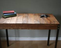 Build Basic Wooden Desk by Desks Etsy