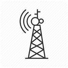 radio tower pc tower radio radio signal radio tower radio waves tower icon