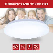 Bright Lamps For Bedroom 24w Round Led Ceiling Light Flush Mount Fixture Bedroom Living