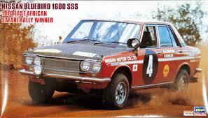 nissan bluebird hasegawa hr06 nissan bluebird 1600sss safari rally 1 24 scale kit