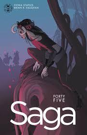 saga volume 7 saga 45 releases image comics
