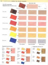 color chart for painting skin tones art pinterest colour