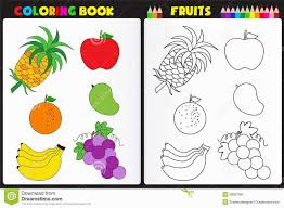 marvellous ideas coloring book fruits vegetables pictures