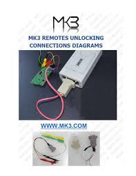 mk3 master key iii programming tool with full remote key unlocking