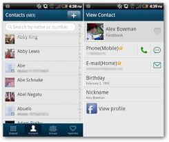 contacts android app best alternative dialers for android beat the stock
