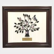 personalized family tree photo gift frame is a
