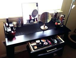 Makeup Vanity Ideas Desk Ikea Desk Makeup Vanity Desk Used For Vanity Best Ikea Desk