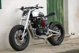 borile tracker nero opaco moto mucci custom bobbers scramblers