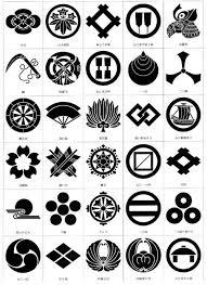 kamon japanese family crests stencil japanese