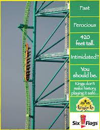 Six Flags Ad The Filaments Six Flags U0027personalities U0027 Campaign 2 Ads