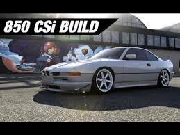 track bmw build bmw 850 csi track build luxury sleeper build