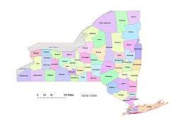Counties In Ny State Map York