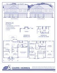 3 Car Garage Dimensions Northpointe Village Adams Homes