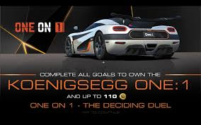 car pushing the limits koenigsegg one on 1 real racing 3 wiki fandom powered by wikia