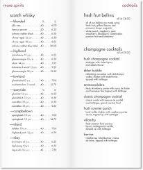 pages menu template menu template design come hither design news