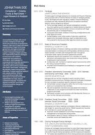 Sample Skills For Resume by Paralegal Cv Examples And Template
