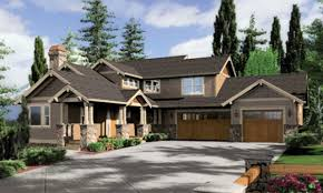 craftsman house plans with basement one story house plans with daylight basement best of craftsman