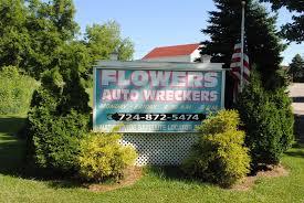 auto junkyard philadelphia flower u0027s auto wreckers inc smithton pa 15479 yp com
