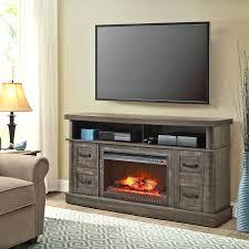 corner console electric fireplace fresno 72 in media black tv