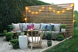 Backyard Screening Ideas Outdoor Patio Privacy Screen I Like This Privacy Attractive