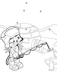 inuit coloring page handipoints