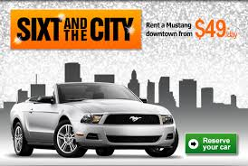 rent a mustang in usa liste archiv für sixtflash newsletter mailing sixt and the