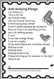 pledge cards template anti bullying pledge 8pm free admission with signed anti