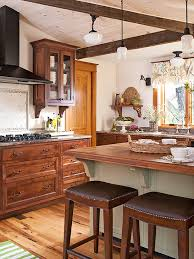 kitchen color ideas with oak cabinets decorating with oak cabinets