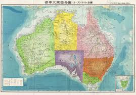 Map Of World War 1 by Os Japanese Aeronautical Map Of Australia 1943 5000 3498
