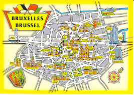 belgium city map map of cities map of brussels belgium