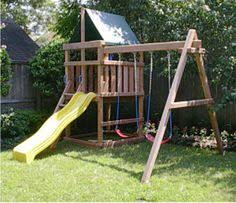 Diy Backyard Swing Set This One We Build It Ourselves And Save A Crapload Everybody