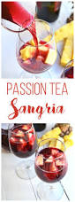 passion tea sangria recipe ginger beer sangria and red wines