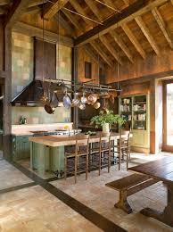 Rustic Kitchen Design Images Sparkling Trend 25 Gorgeous Kitchens With A Bright Metallic Glint
