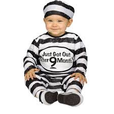 prisoner costume toddler time out tot costume baby prisoner costume