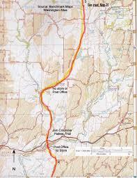 Spokane Map Desert Trail Hooper To Spokane U2013 Columbia Plateau U2013 Outdoor