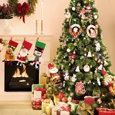 christmas trees codream 7ft artificial christmas trees with stand for