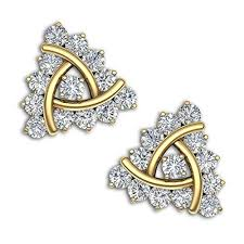 gold and diamond earrings 63 best kirtilals on images on diamond