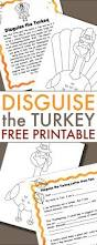 Nutcracker Crafts For Kids - turkey in disguise project free printable turkey craft project